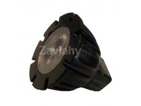Power LED MR11, G4, 12 V AC, 2 W, Teplá bílá