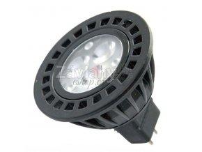 Power LED MR16, GU5.3, 12 V AC, 3 W, Teplá bílá / Studená bílá