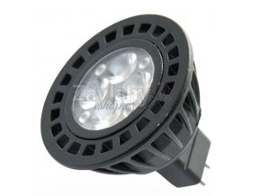 Power LED, MR16, 12 V AC, GU5.3, 5 W, Luxeco