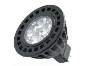 Power LED MR16, GU5.3, 12 V AC, 5 W, Teplá bílá
