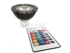 Sada Power LED, MR16, 12 V AC, 3,5 W, RGB + ovládání