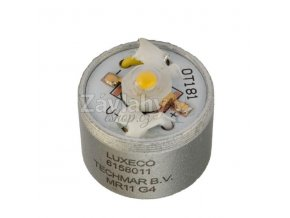 Power LED, 12 V AC, 2 W, Teplá bílá
