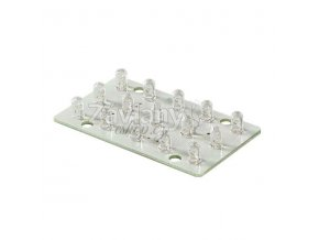 LED modul WAGO, 12 V AC, 2 W, Teplá bílá