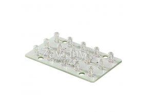 LED modul WAGO, 12 V AC, 2 W, Bílá/ Teplá bílá