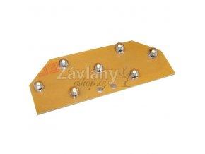 LED modul WAGO, 12 V AC, 1 W, Bílá/Teplá bílá