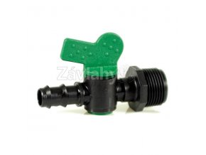 """VMP - Plastové uzavírací ventily COMPACT - motýlek / 3/4"""" x 25mm"""