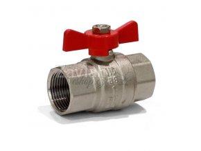Kulový ventil FF s motýlkem - standardní závit