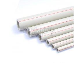 Polypropylenové potrubí PP-R (PN 20) - 1 m / 63x10,5mm