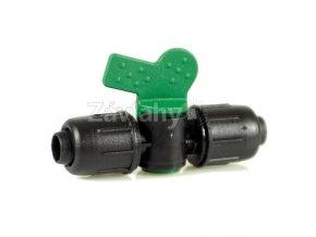 VEE - Plastové uzavírací ventily COMPACT - motýlek / 20 x 20mm