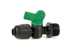 """VME - Plastové uzavírací ventily COMPACT - motýlek / 3/4"""" x 20"""
