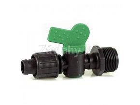 """VMT - Plastové uzavírací ventily COMPACT 3/4""""x 16 mm TAPE - motýlek"""