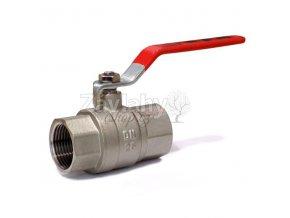 Kulový ventil FF s pákou - dlouhý závit