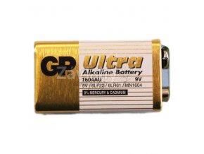 Značková ULTRA alkalická baterie 9 V pro jednotky HUNTER