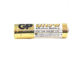 Alkalická baterie GP ULTRA 1,5 V AA (tužka), cena za 1 ks
