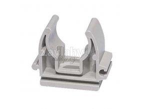 Plast. příchytka na potrubí 16-20 mm / 20 mm