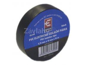 Izolační páska 15 mm černá, 10 m