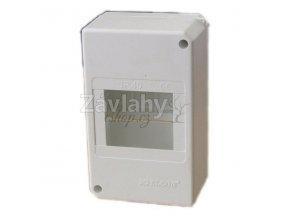 Plastový rozvaděč /kryt jističe - 3 moduly, IP 40