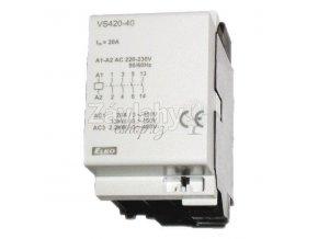 Stykač VS 420, 4x20 A, 24 VAC