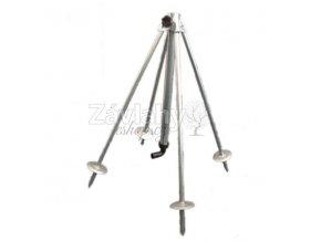 Přenosný teleskopický stojan 4-ramenný