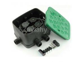 "EZ4 minibox s 4 elektromagnetickými ventily 3/4"" 9V DC"