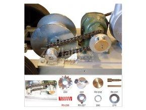 Pružina k zajišťovací hřídeli brzdy - [R3-230]