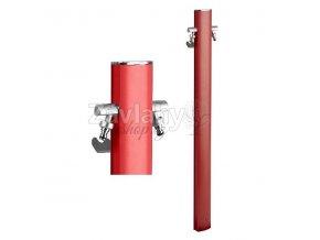 """Zahradní sloupkový hydrant AP """"TOTEM"""" červený / Červená"""