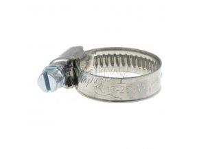 Nerezové spony na hadice / 80-100 mm