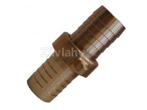 "Oboustranná spojka na PVC hadice 1/2"" / had.1/2"" (závit1/2"")"