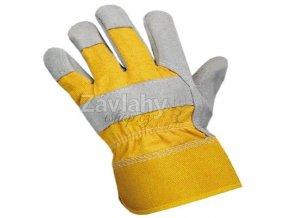 Pracovní kombinované rukavice DINGO / vel. 11