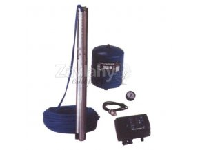 GRUNDFOS SQE 2-55 s frekv. měničem, 40m kabel 230V (set)