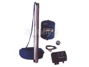 "Čerp. GRUNDFOS ""SQE 2-70"" s frekv. měničem + 60m kabel 1x230V (set)"