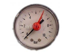 Manometr 0-10 bar, zadní vývod, Ø 50 mm
