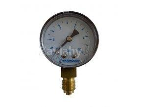 Manometr 0-10 bar, spodní vývod, Ø 50 mm