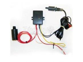 Plovákový elektromechanický spínač s ochranou a zpožděním 5 s - horní / kabel 2 m