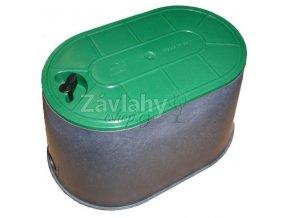 CONTA - ventilová šachtice oválná PC