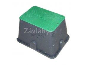 STANDARD - ventilová šachtice PC, zelené víko