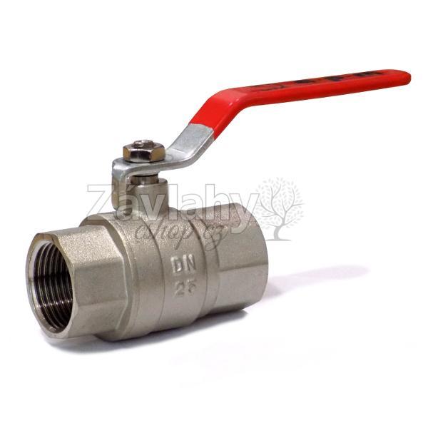 """Kulový ventil FF s pákou - dlouhý závit Typ: připojení 1/2"""""""
