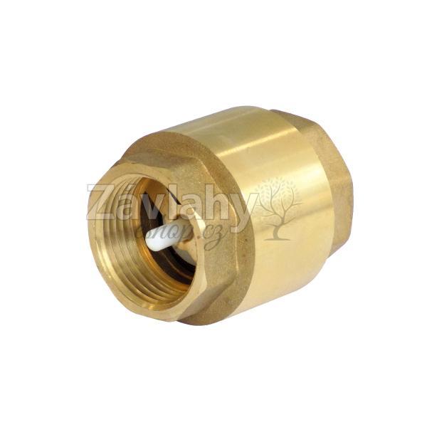 """Zpětná klapka - s plastovou záklopkou Typ: připojení 1"""""""