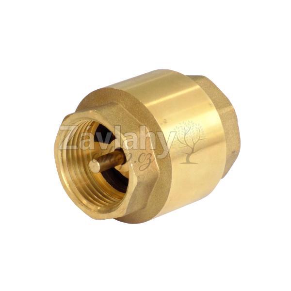 """Zpětná klapka - s mosaznou záklopkou Typ: připojení 1"""""""