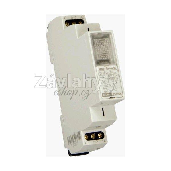 Instalační relé VS 116 ke spínání spotřebičů do 16 A (AC1)