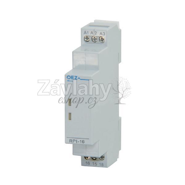 Instalační relé RPI16-X230-SC ke spínání spotřebičů do 16 A (AC1)