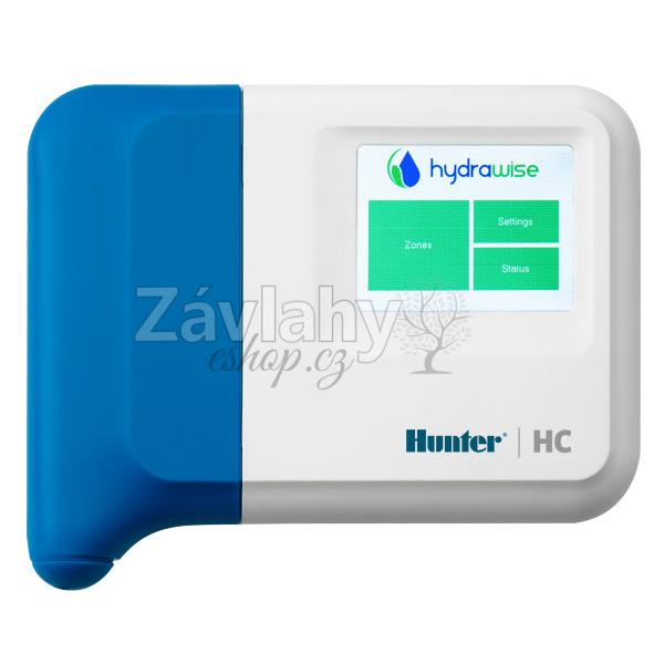 Hunter HC 6 s web. softwarem Hydrawise - WiFi, 6 sekcí, bez trafa