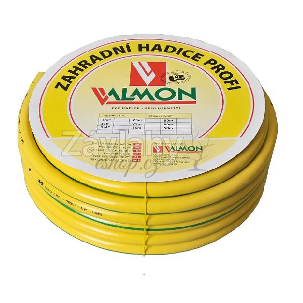 "Zahradní PVC hadice PROFI žlutá Typ: 1/2"" - 25m"