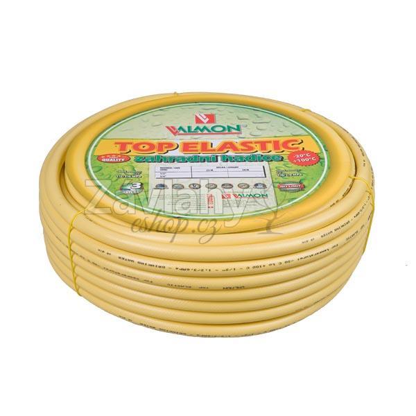 """Zahradní PVC hadice PROFI TOP ELASTIC žlutá - 25 m Typ: 1/2"""" - 25m"""
