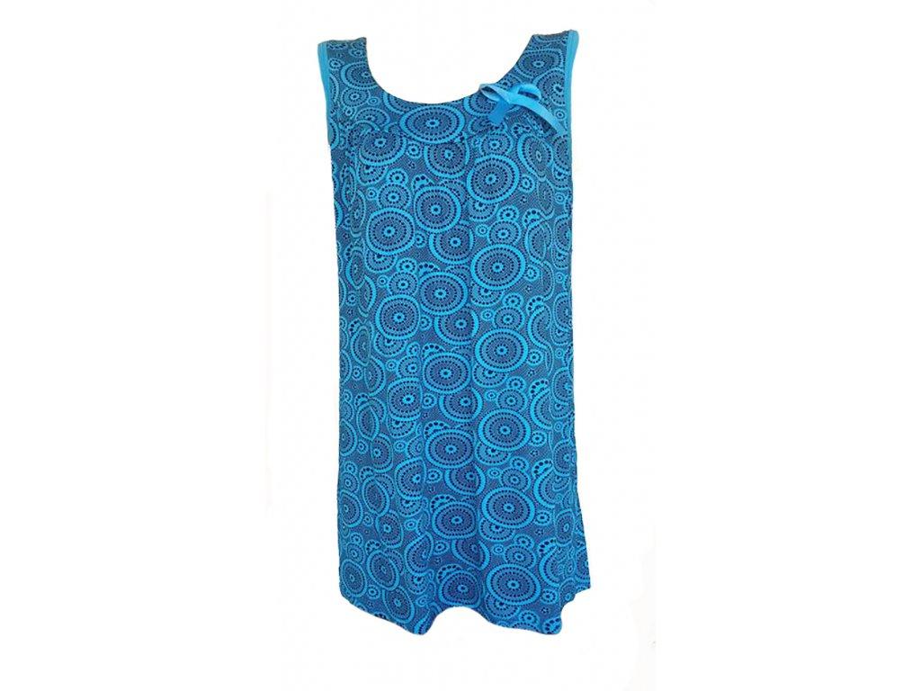 tunika modrá