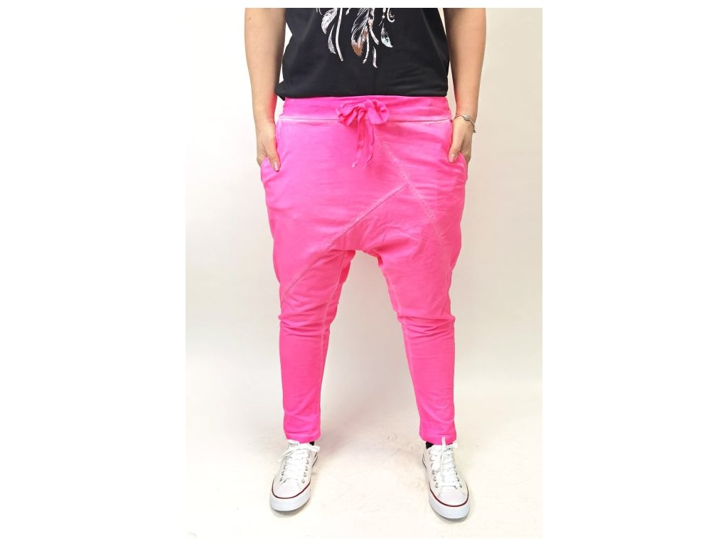 baggy neon růžové.