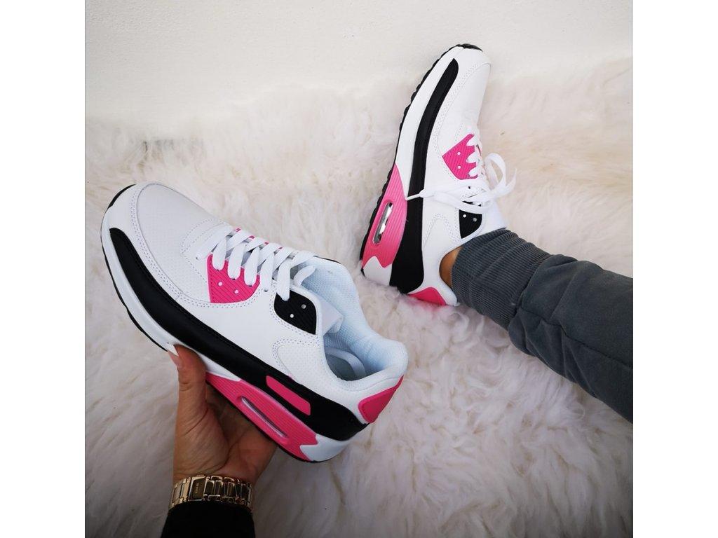 botasky bílorůžové