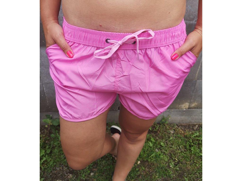 Dámské šortky růžové
