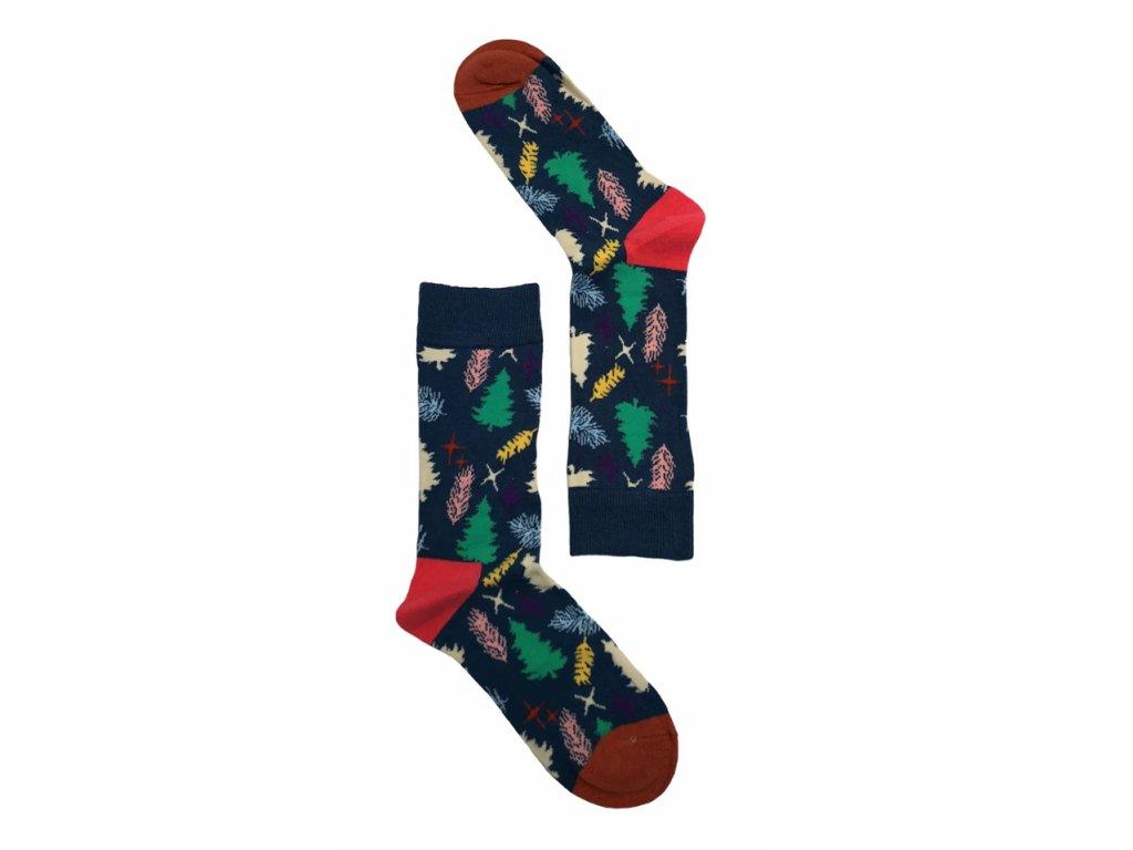 Dámské ponožky les