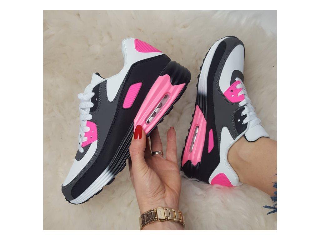 botasky tmavě růžové